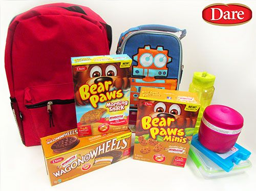 ★SNACKTIME!★ #WIN Dare Bear Paws & Wagon Wheel Prize Pack from SnyMed.com! Peanut-free with Wowbutter!   ENTER: http://www.snymed.com/2014/09/new-dare-bear-paws-wagon-wheels-with.html