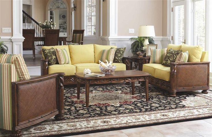 Florida Paradise Living Room Set And Individual Pieces