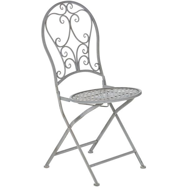 Amazing OKA Rivoli Folding Outdoor Chair (225 BRL) ❤ Liked On Polyvore Featuring  Home,