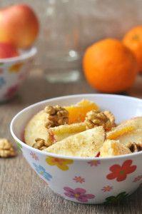 Diós almasaláta - gluténmentes recept - nem csak gluténérzékenyeknek!