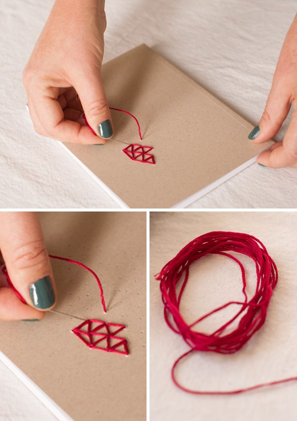 Maker Crate - Paper Embroidery Tutorial