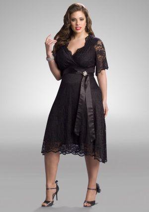 Traje elegante | Vestidos de Noche para Gorditas – Tallas Extra