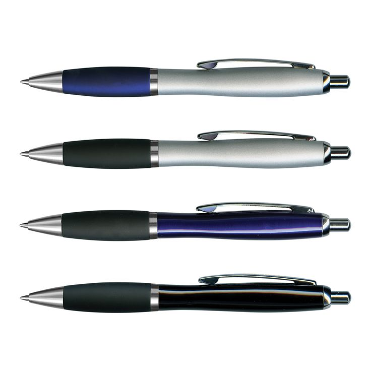 Retractable brass barrel ball pen with a lacquered barrel, a soft touch rubber lacquered grip and shiny Chrome accents. It has a Black ink Large Volume refill with 1200 metres of ink and Blue ink is available for an additional charge. Atlantis laser engraves to a brass colour.