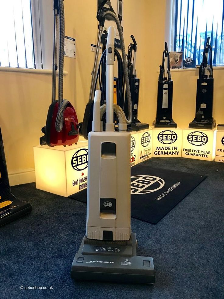 Sebo XP2 Commercial Vacuum Cleaner. Refurbished by a Sebo Dealer. VAT Receipt.