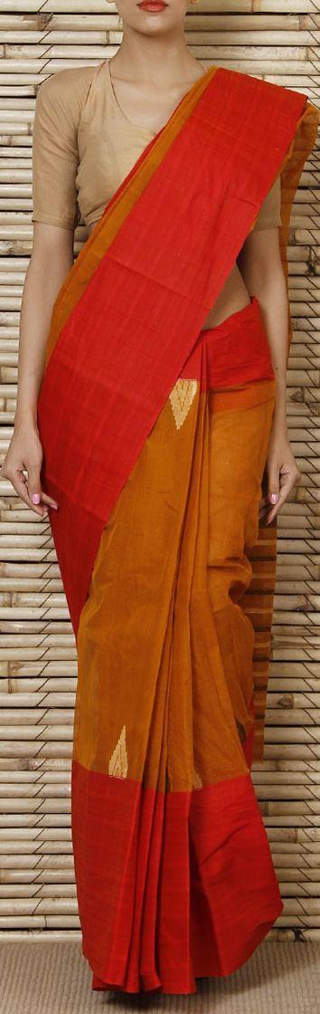 Bengal Handloom Cotton Saree. original pin by @webjournal