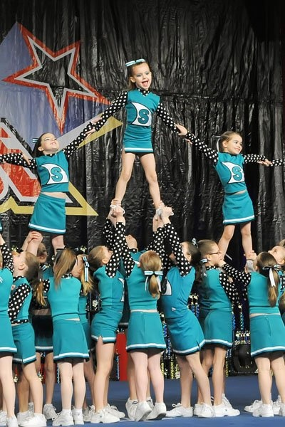 the sport of cheerleading What's the point of cheerleading  (it's not considered a sport) and the number of cheerleaders on private teams isn't known.