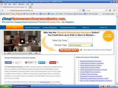 Cheap Homeowners Insurance | Who has the Cheapest Home Insurance Quotes? - http://stofix.net/insurance/home-insurance/cheap-homeowners-insurance-who-has-the-cheapest-home-insurance-quotes/