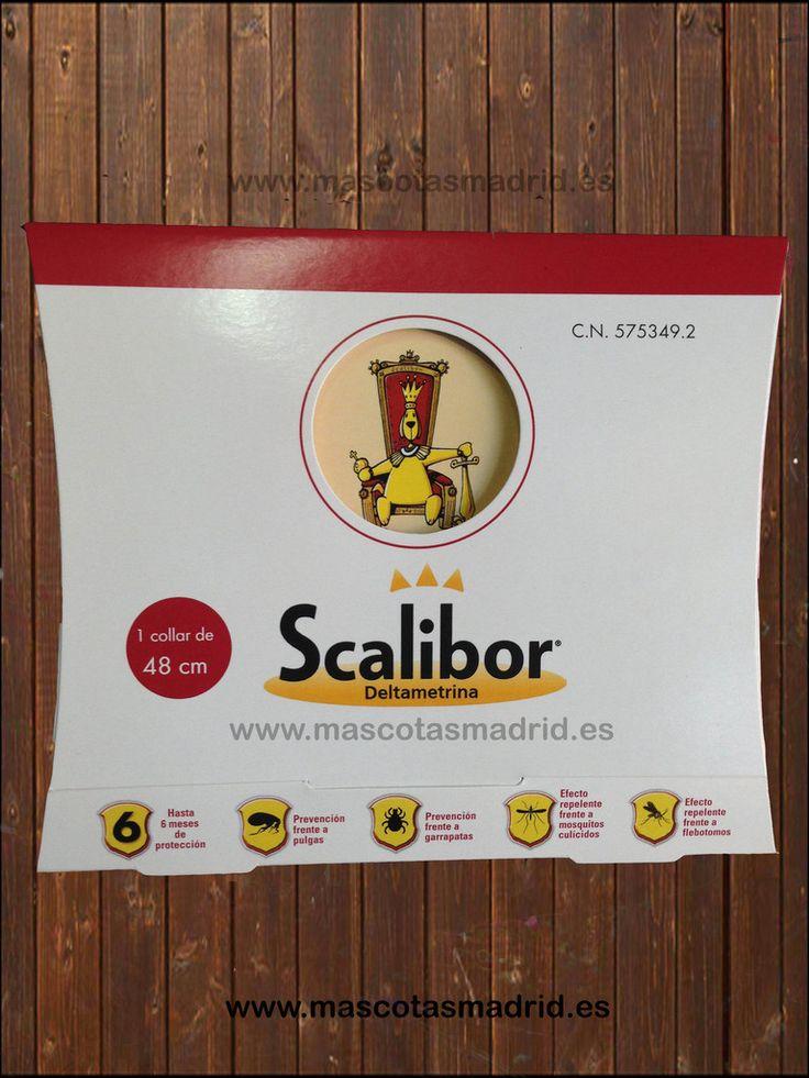 Collar Scalibor 48cm y 65 Cm. Protege contra mosquito, garrapata y pulgas por 6 meses. Desde 18€.