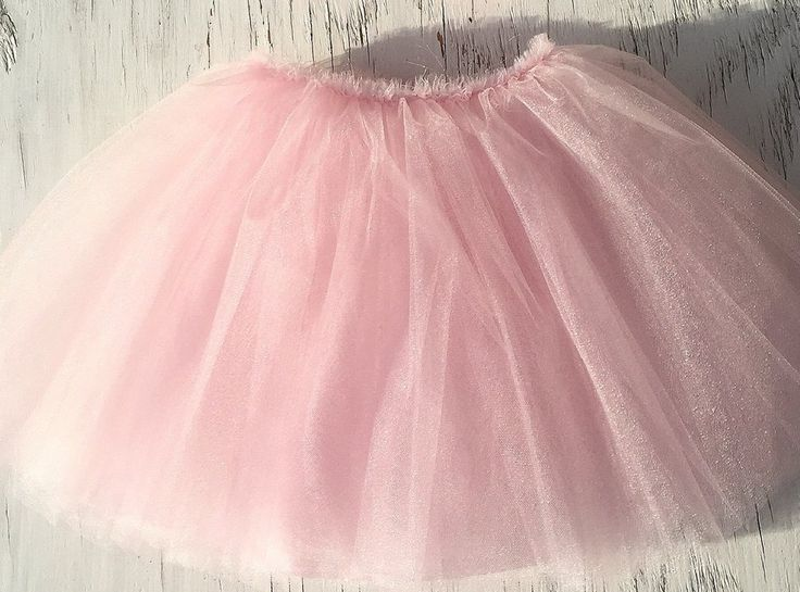 Light Pink Tutu Skirt