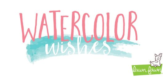 Watercolor Wishes, the latest collection from @lawnfawn is in store @ Anna's now.
