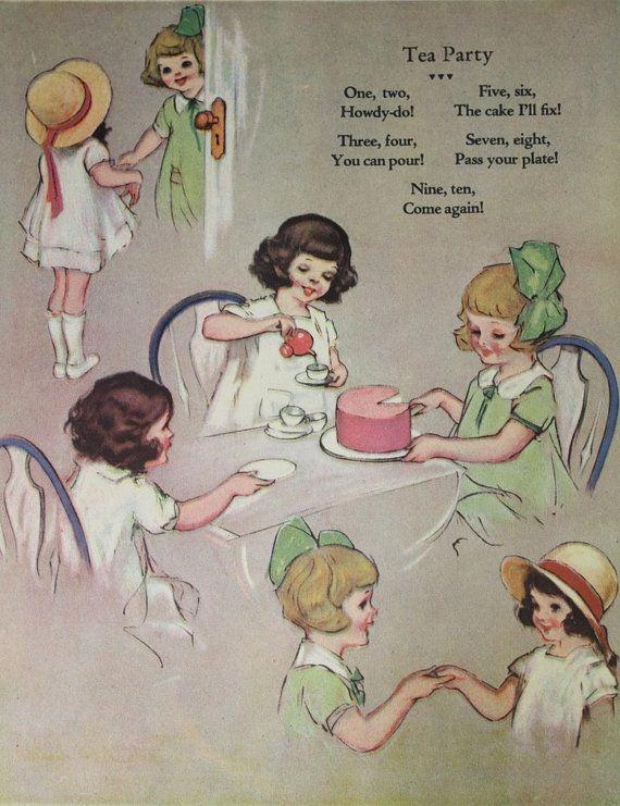 It's a tea party!: