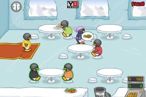 Penguin Diner - Play Penguin Diner game at: Penguin Diner - Play Penguin Diner game