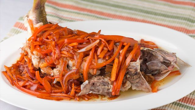 Fish Escabeche Recipe | Recipe | yummy.ph