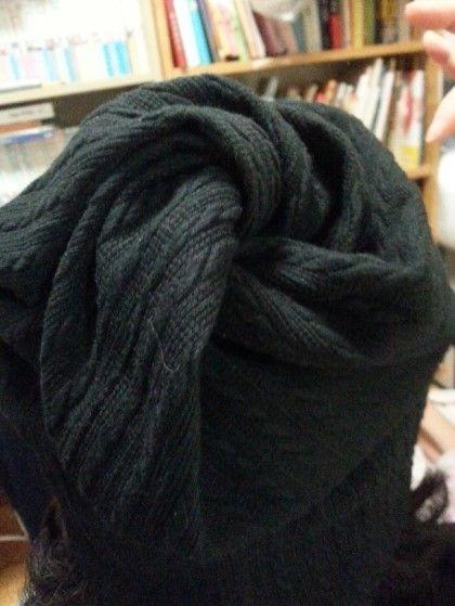 초간단 회오리(꽈배기) 모자만들기 -과정샷 : 네이버 블로그