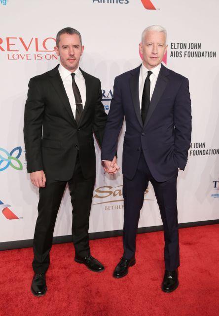 Anderson Cooper and Benjamin Maisani