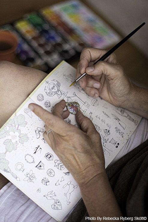 Artist Jone Hallmark