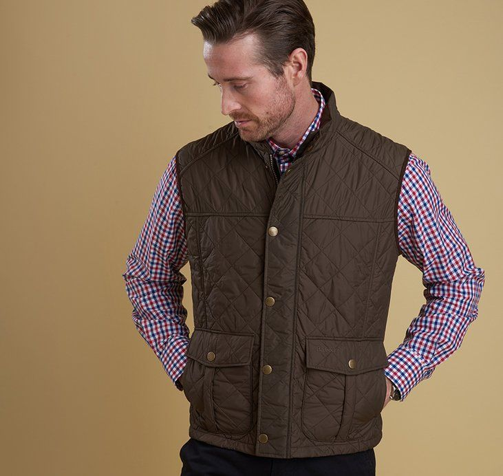 Barbour vest size L