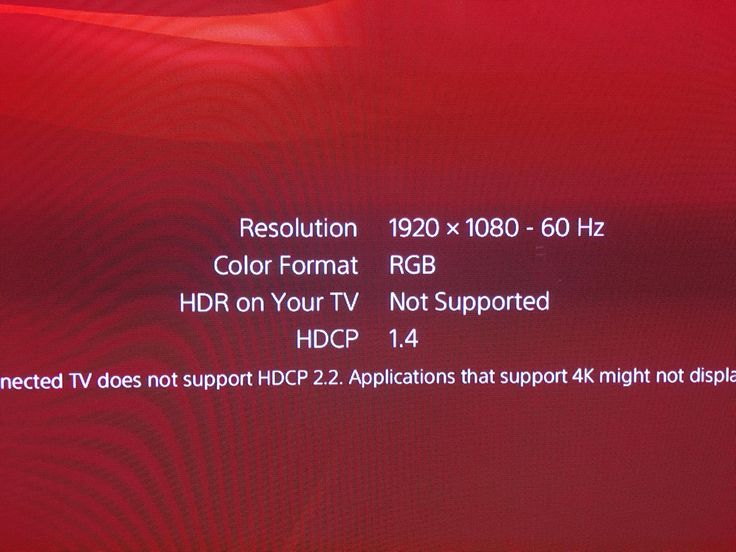 [IMAGE] on the PS4 when checking your Display settings it says my color format is RGB. Does this mean my TV supports RGB full? #Playstation4 #PS4 #Sony #videogames #playstation #gamer #games #gaming