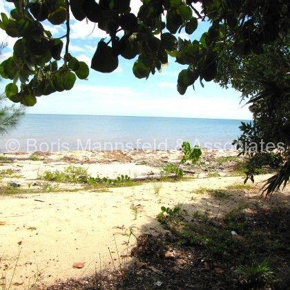Placencia beachfront lot