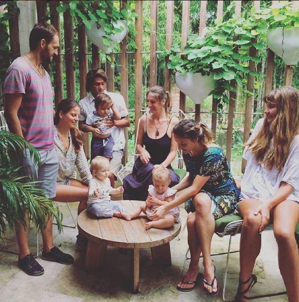 Отмечаем день рождение подруги @zonzam. Courtesy of @nadyaplastinina in #Instagram. #HappySmileyPeople #CuteKids #HealthyTots #BabesInParadise #CrowdPleaser #Healthy #GardenFresh #CafeKids #NextGen #GreenGoodness #Bali #Umalas #Bumbak #CafeCousCous #bestinbali #candid #baligasm #balifix #balicili
