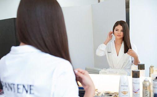 introducing Selena Gomez for pantene✂