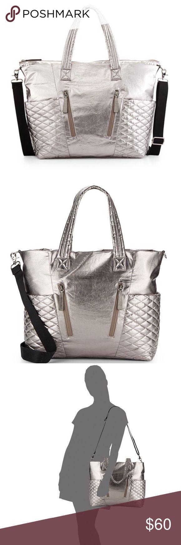Diaper bag Metallic Diaper Bag like new Rebecca Minkoff Bags Baby Bags
