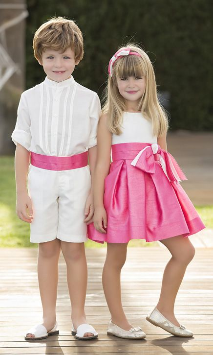. #kids #outfit #pink #white