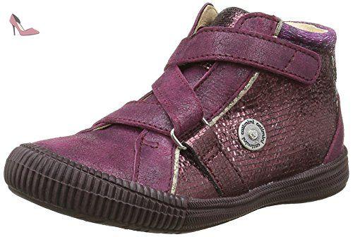 Catimini Corneille, Sneakers Hautes Filles, Rose (16 Vtc Bordo/Fuchsia Dpf/2714), 24 EU - Chaussures catimini (*Partner-Link)