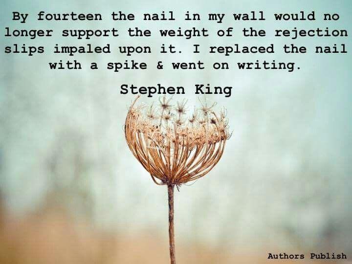 Keep writing!