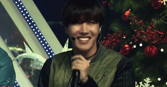 J-Hope's fatally beautiful smile