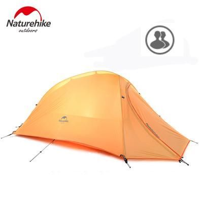 Naturehike 2 Person Tent 20D Silicone Fabric Tent Double-layer Camping Tent Lightweight Tent Outdoor Sports Winter