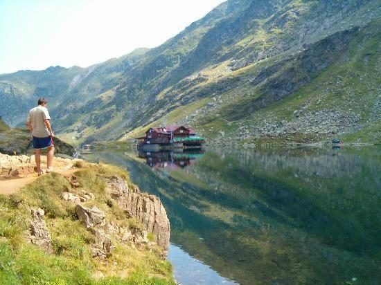 Romania: Bilea Lake-glacier