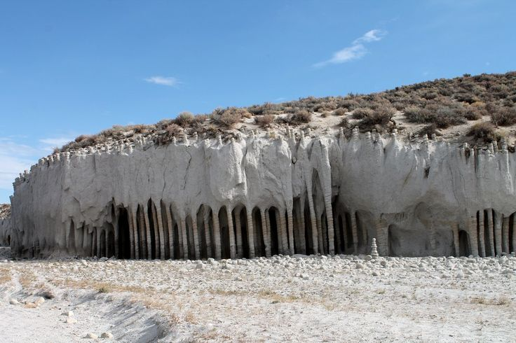 Enigmatic Stone Columns of Crowley Lake