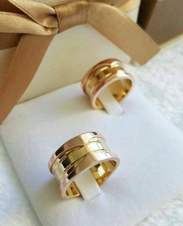بالصور أجمل دبل خطوبة لعام 2019 Wedding Rings Engagement Gold Rings