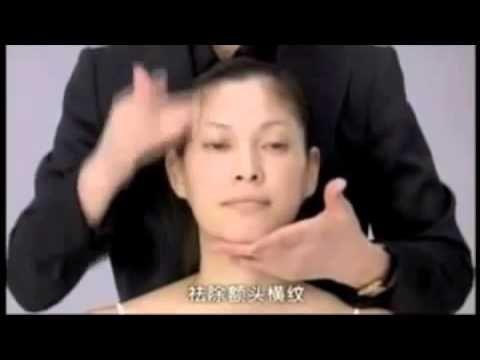 Японский массаж лица Асахи Зоган   Русская озвучка   Yukuko Tanaka's Fac...