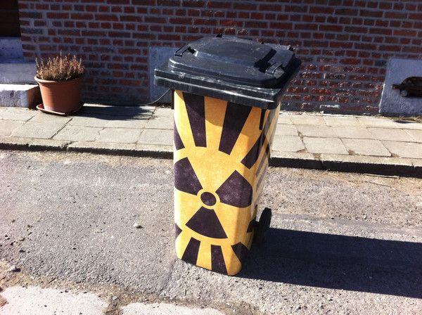 "Sticker ""Radioactif"""