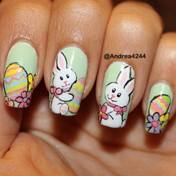 easter by andrea4244 #nail #nails #nailart