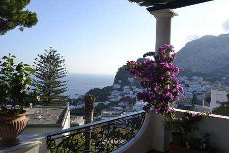 Belvedere Mezzomonte Capri, Italy