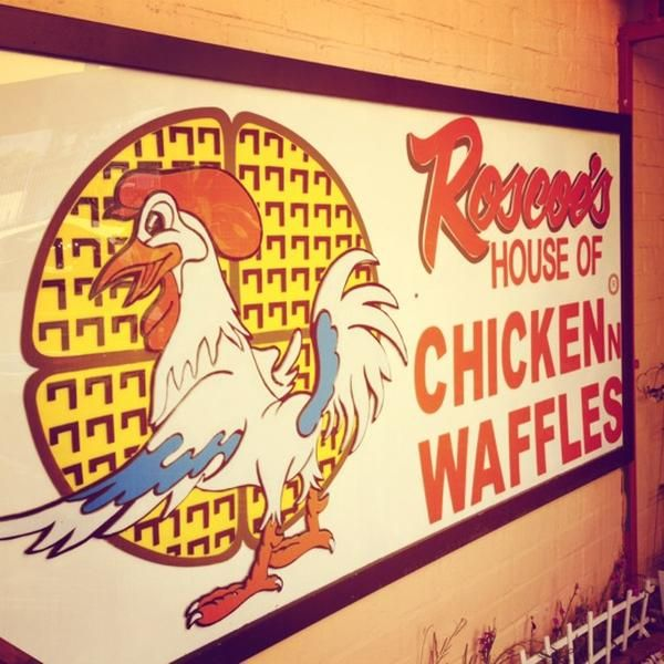 Roscoe's House of Chicken and Waffles American Restaurant, Southern / Soul Food Restaurant, and Fried Chicken Joint 5006 W Pico Blvd (at S Mansfield Ave), Los Angeles, CA 90019