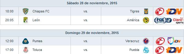 Poco para reiniciar la segunda etapa de los cuartos de final de #Liguilla #Apertura2015