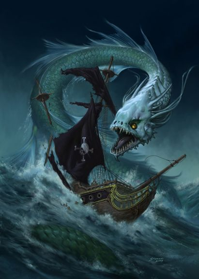 Sea Dragon by ~StawickiArt on deviantART