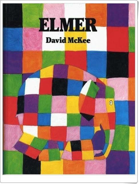"""""""Elmer, el elefante"""" de David McKee"""