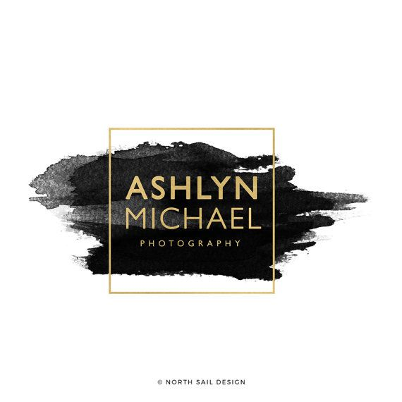Ashlyn Michael Premade Logo Boutique Logo by NorthSailDesign