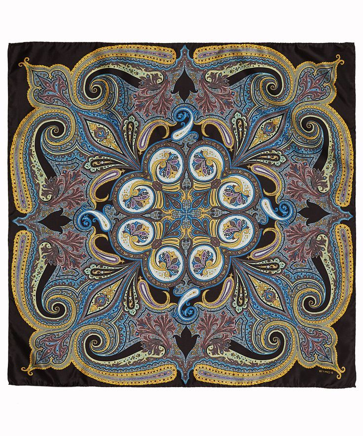 Paisley print silk scarf from Etro. Shop now at http://www.liberty.co.uk/fcp/categorylist/designer/etro #DesignerScarves T&W - 100% Silk Scarves, Hand Woven Hats, Beautifully Simple Sunglasses.