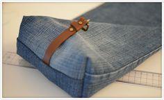 20 Minuten Zeit und Lust, aus einer alten Jeans und einem alten Gürtel eine sup… – Ulrike