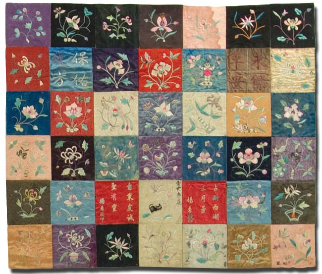 Pojagi: Gallery. Exhibition of quilts - gorgeous images to open.