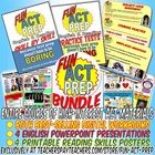 """**Please do NOT purchase this bundle with other """"Fun ACT Prep"""" products. This is a bundle of our entire line of """"Fun ACT Prep"""" products, however, n..."""