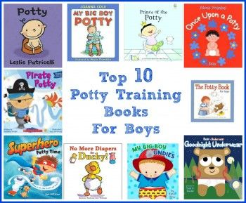 Top 10 Potty Training Books For Boys
