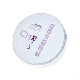 """ING Hydra Wax - Ενυδατικό Κερί Μαλλιών 100ml Κερί μαλλιών πλούσιο σε ενυδατικά συστατικά, θρέφει τα μαλλιά και δίνει φυσική λάμψη και κανονικό κράτημα. Ιδανικό για να τονίσουμε τις άκρες των μαλλιών (μύτες) και για ανάλαφρα χτενίσματα καθώς η σύνθεσή του δεν """"κοκαλώνει"""".  Τα μαλλιά κινούνται ελεύθερα σαν να μην έχουμε χρησιμοποιήσει styling. Αρκετά συμπυκνωμένη σύνθεση χρειάζεται ελάχιστη ποσότητα, είναι κατάλληλο για άντρες και γυναίκες.  ΑΝΑΛΥΤΙΚΑ στο www.femme-fatale.gr Τιμή €6.50"""
