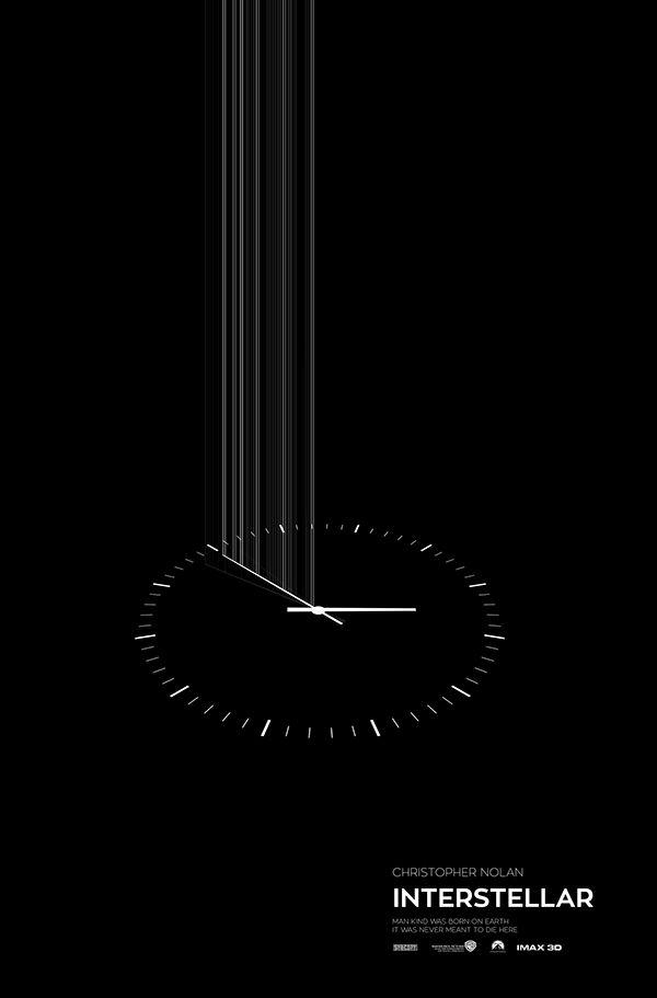 Interstellar minimal poster on Behance